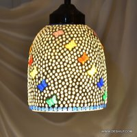 Mosaic Glass Antique Wall Hanging
