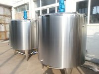 Two Layer Stainless Steel Holding Tank 500 LTR Stainless Steel Tank