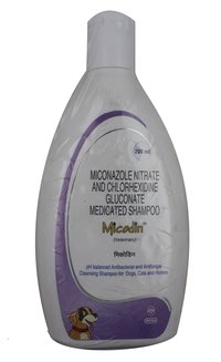 Micodin(Chlorhexidine Gluconate & Miconazole) 200ml Shampoo