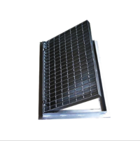 Pressure welded grating