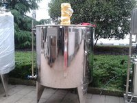 Stainless Steel Water Tank 400L Biotechnology Stainless Steel Mixing Vat