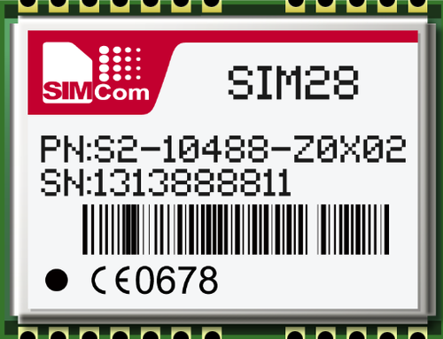 SIM28M GPS MODULE