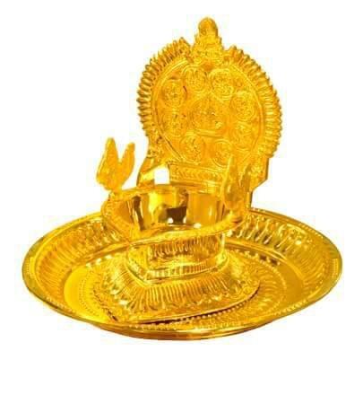 Brass pooja Thali Set