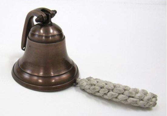 Brown Antique Nautical Ship Bell