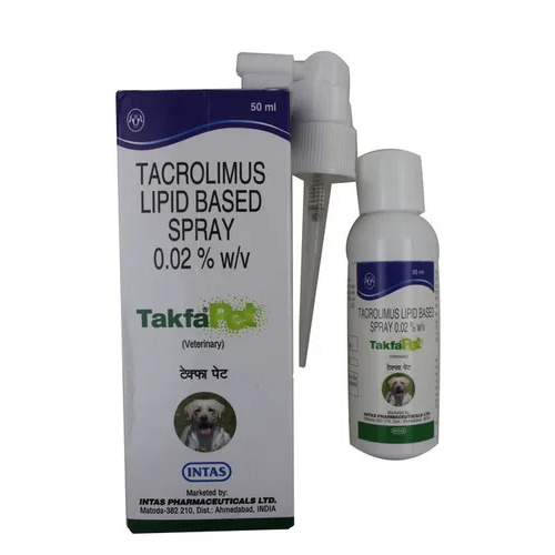 TAKFA PET SPRAY 50ML-TACROLIMUS +ALPHA TOCOPHEROL