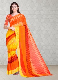Beautiful Georgette Printed Saree