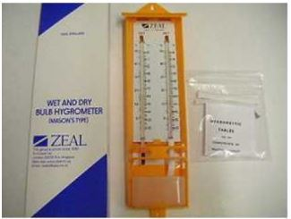 Thermometer Wet & Dry Bulb