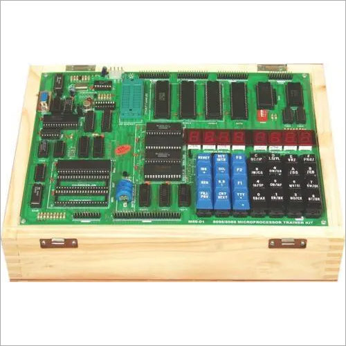 8085-Microprocessor Trainer Kit - LED/LCD Display