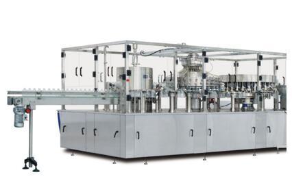 Water 3-IN-1 Bottles Washing Filling And Sealing Machine