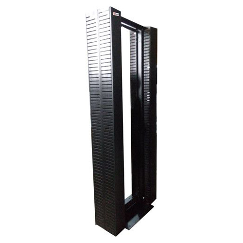 2 Post Open Rack 45U with Cable Manager (150x150)mm