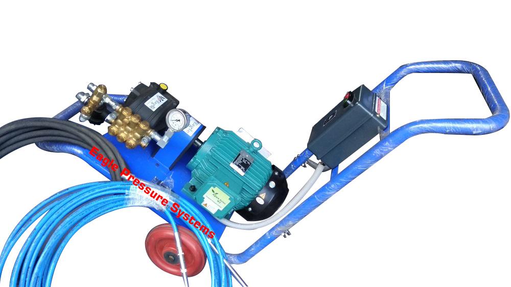 High Pressure Triplex Water Jet Pump