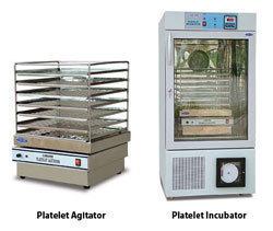 Platelet agitator with incubator