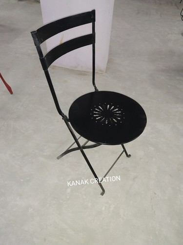 Black China Folded Dining Chair