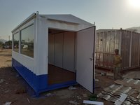 PORTABLE CABIN FOR ELECTRICAL PANEL BOARD