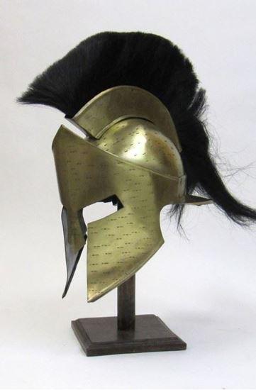 New Leonidas Helmet Plume