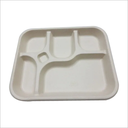 5 SECTION BAGASSE TRAY