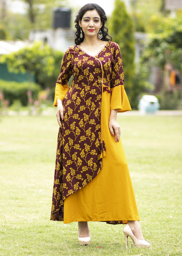 designer rayon kurti