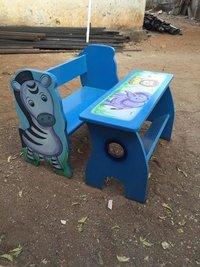 Zebra bench