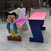 Micky mouse bench