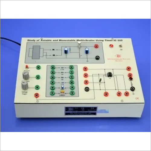 Study Of Astable And Monostable Multivibrators, 555