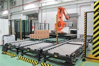 Automatic Robot Palletizing System