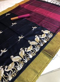 Raw silk sarees