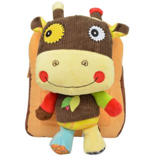 Tiramitu Plush Bags Rabbit Kawaii Backpack Toy for Children Shoulder Bag for Kindergarten Girl Metoo Backpack Doll Kids Toys