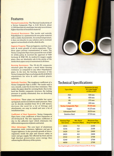 Composite Pipe & Fittings