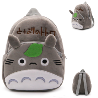 1Pcs Japanese Anime My Neighbor Totoro Baby Plush Backpacks 0-8Y Toddler Kindergarten School Bags Mini Plush Backpacks Nice Gift
