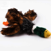 SWAMPLAND Pets Puppy Dog Toys Chew Stuffed Squeaker Squeaky Sound Toy Plush Duck Toys For Dogs pet Training Squeaking Toy