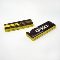Rolling Paper With Filter Tips One 1by4 Unbleached Brown