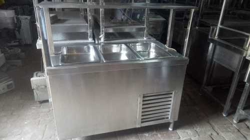 Cold Bain Marie With Undercounter Fridge