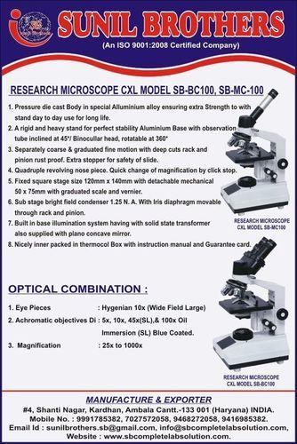 binocullar microscope