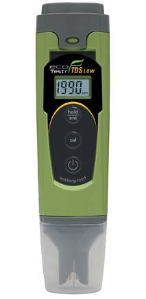 Waterproof EcoTestr TDS Low Tester with ATC, 1 point Calibration