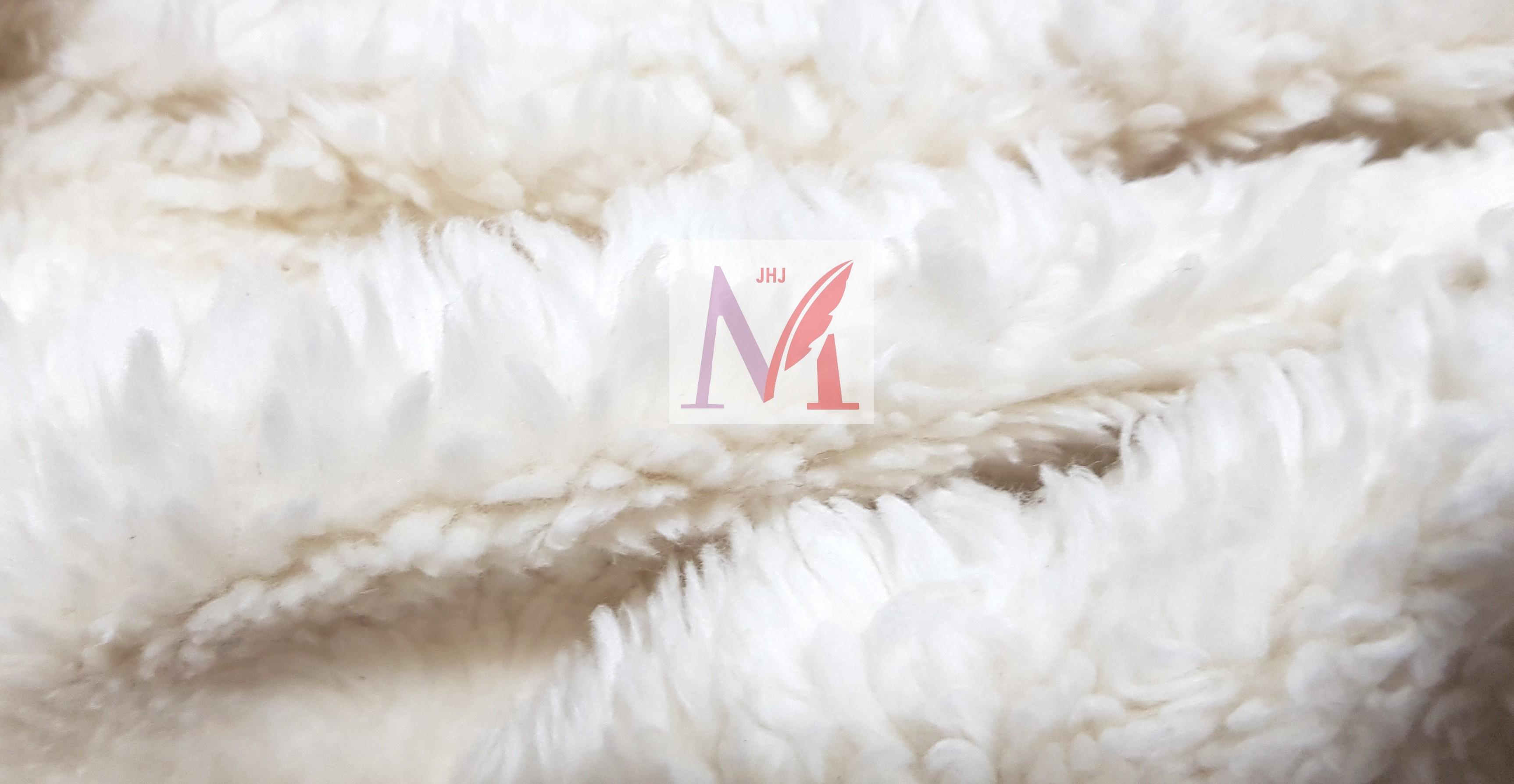 Cotton Sherpa Fabric (12MM Pile)