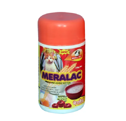 MERALAC KITTEN 250GM-FEED SUPLIMENT