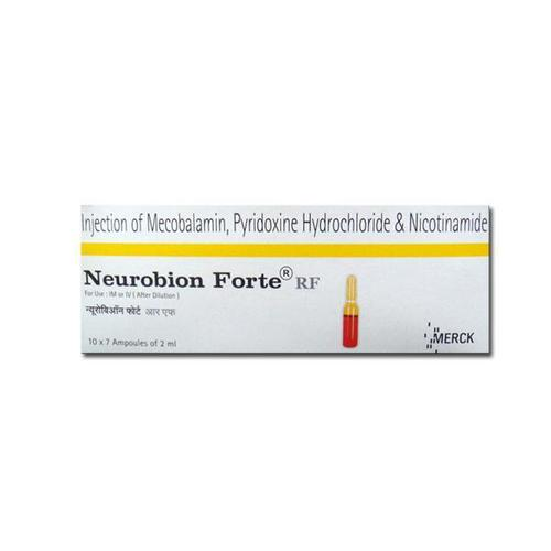 NEUROBINN FORTE INJECTION 2ML-MECOBALAMIN 1000MCG+PYRIDOXINE