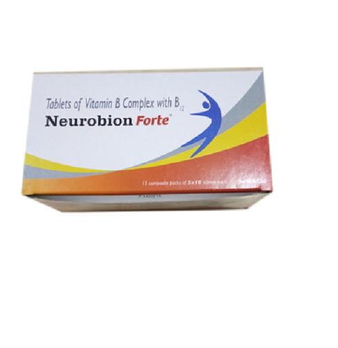 NEUROBION FORTE TAB 10S-MECOBALAMIN 1000MCG+PYRIDOXINE