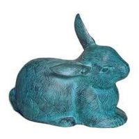 Decorative Aluminium Rabbit Sculpture