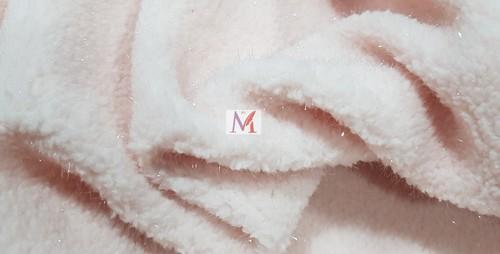 Polyester Lurex Sherpa Fabric