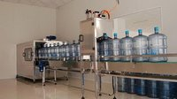 5 Gallon Water Barrel Washing Filling Capping Machine