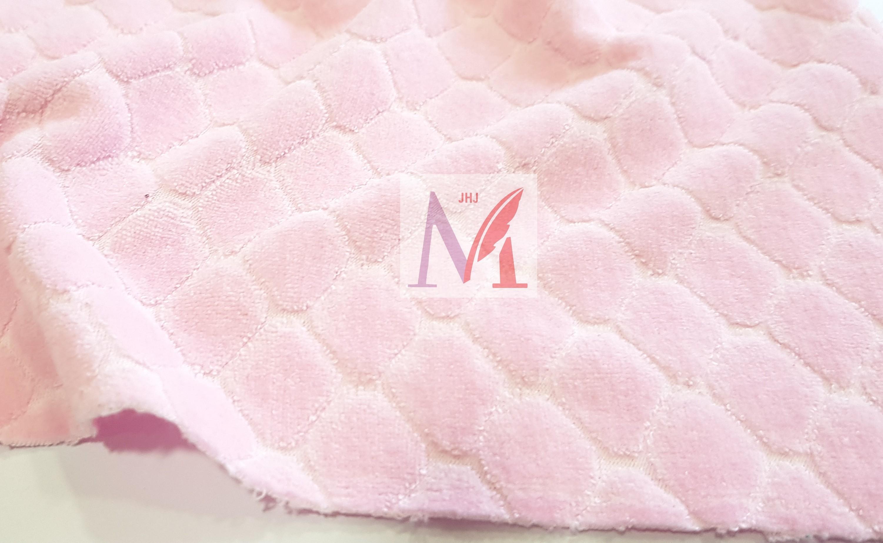 Cotton Jacquard Velour Fabric