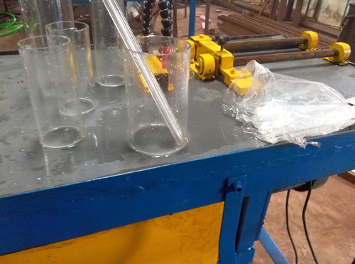 GLASS PIPES/ TUBES/BOTTLE CUTTING MACHINE