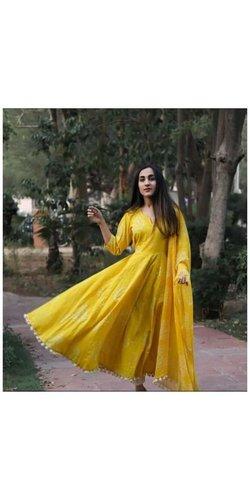 Designer Cotton Anarkali Kurti