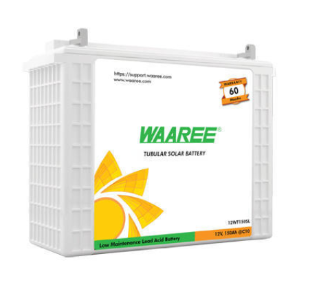 WAARRE SOLAR TUBULAR BATTERY