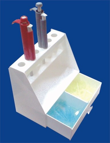 Micropipetts Stand With Cover