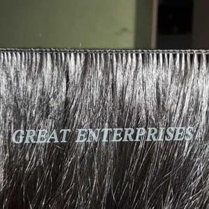 Micro Hand Tied Weft