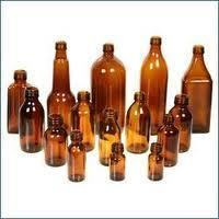 Amber color Weighting bottles