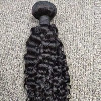 Human hair weft extension