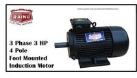 3 Phase 3 HP Electric Motor